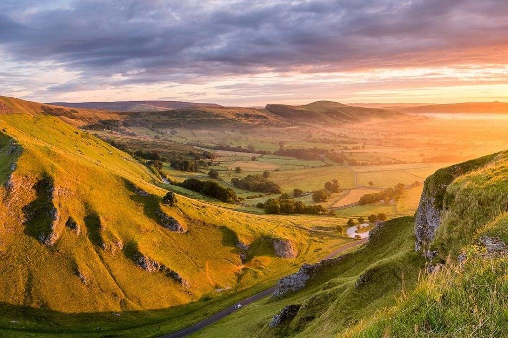 Beautiful views of Great Britain