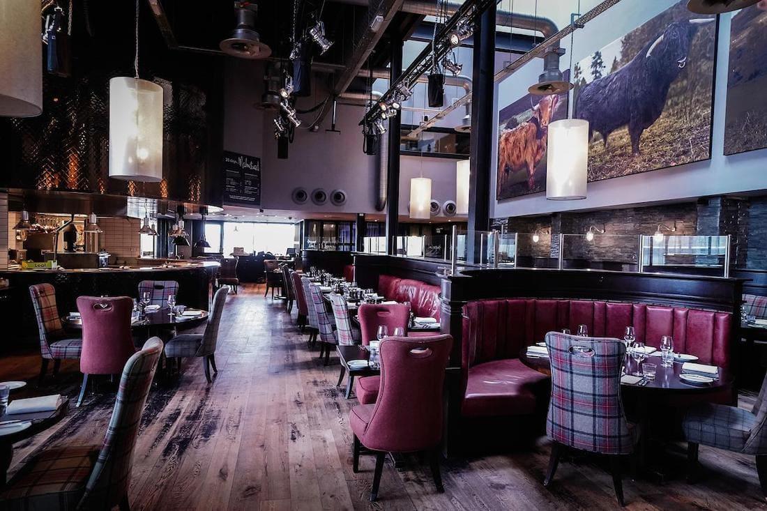 Malmaison Restaurant, Aberdeen