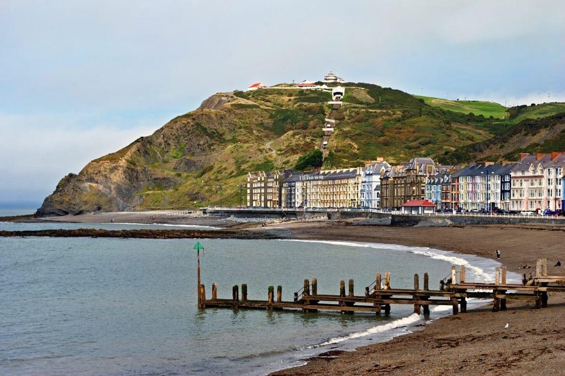 North Beach, Aberystwyth