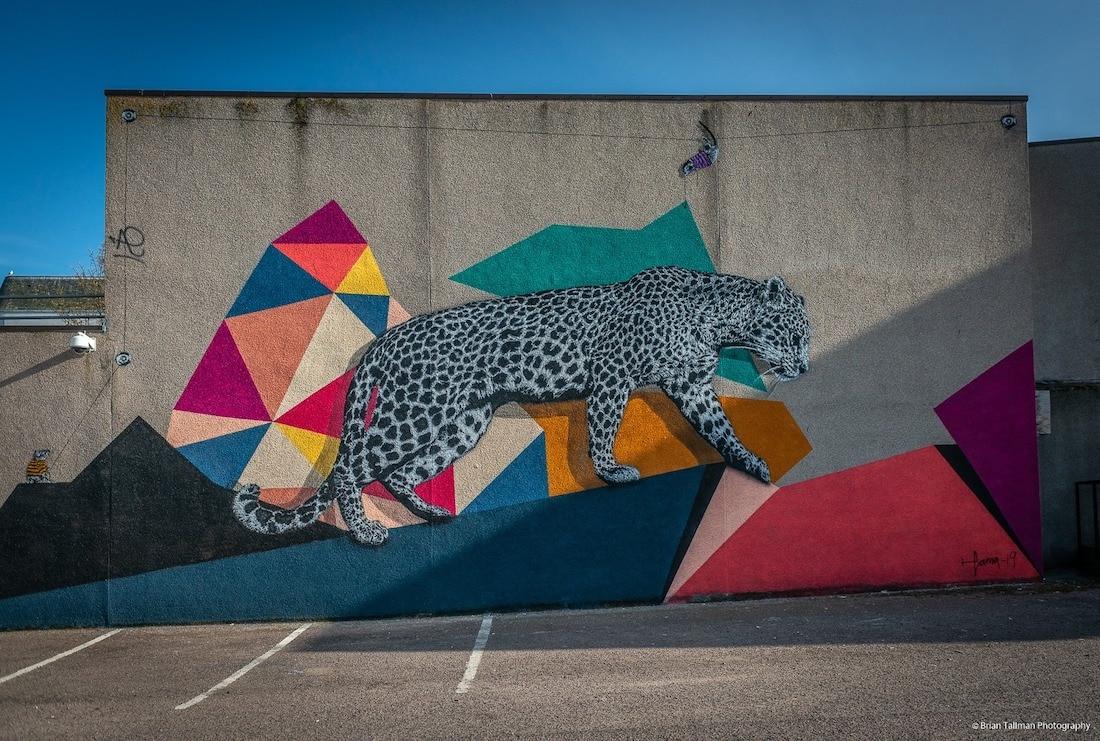Street art in Aberdeen (Photo: Brian Tall)