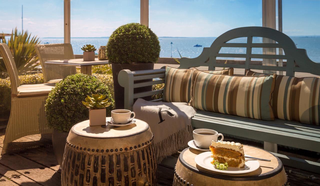 Terrace at Roslin Beach Hotel, Southend-on-Sea