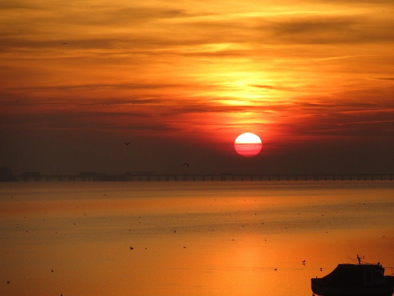 Sunset in Essex