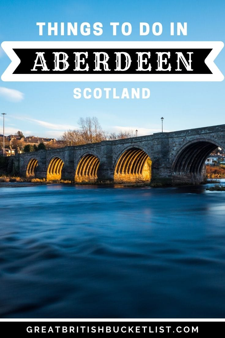 Things to do in Aberdeen, Scotland