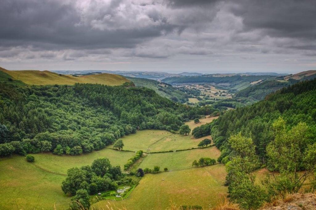 Beautiful welsh valleys