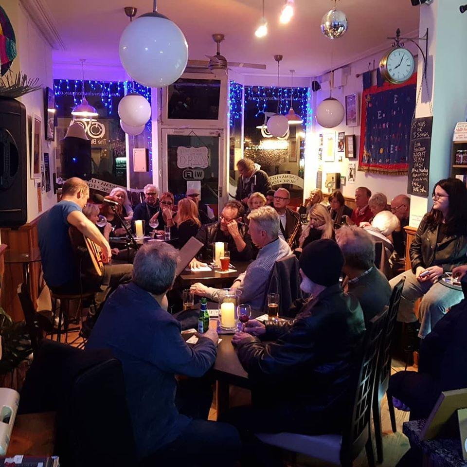 Blue Walnut Café Bar and Cinema. Torquay