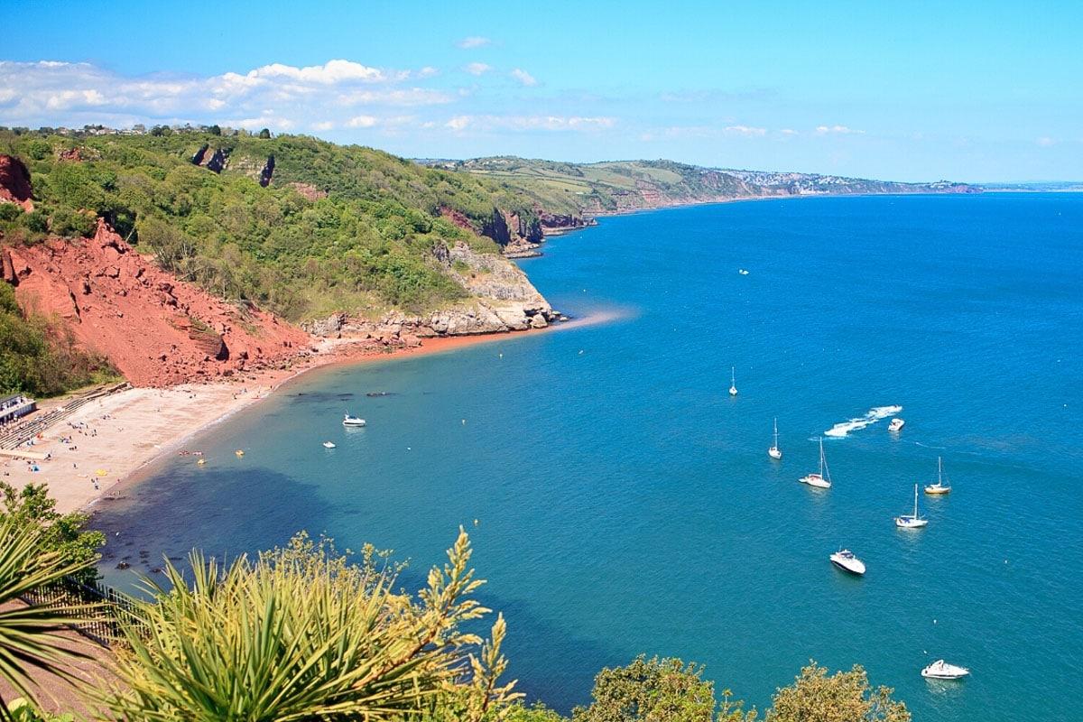Babbacombe Bay, Devon