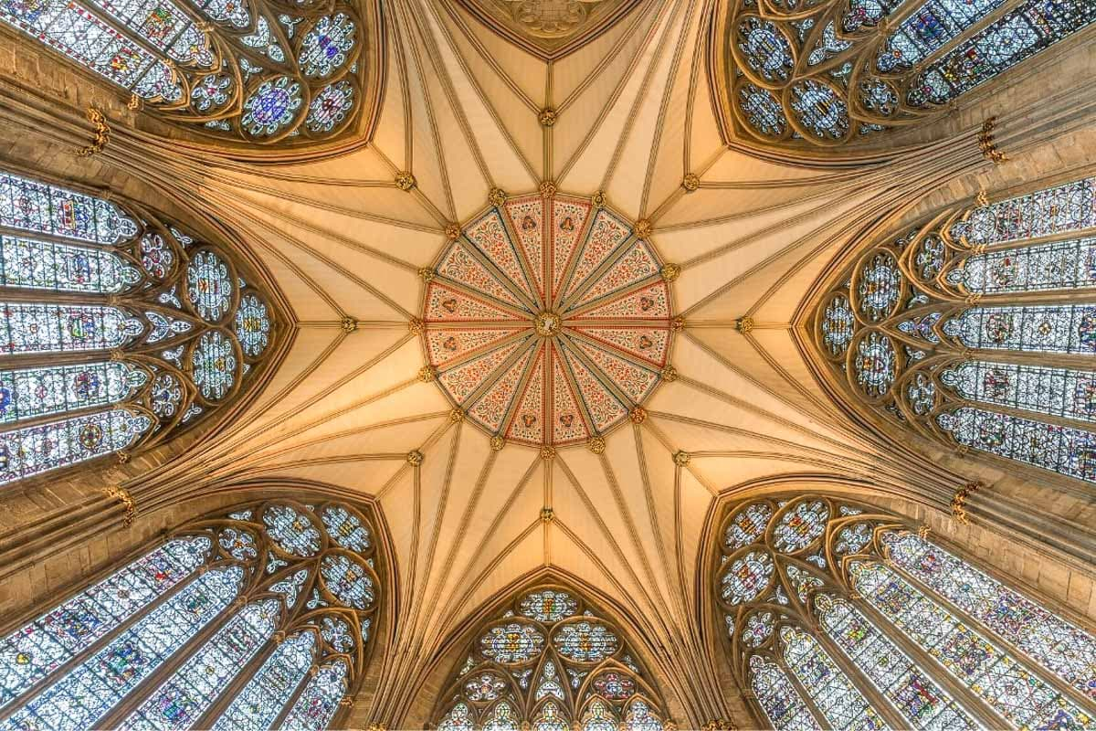 Ceiling of Chapter House, York Minster