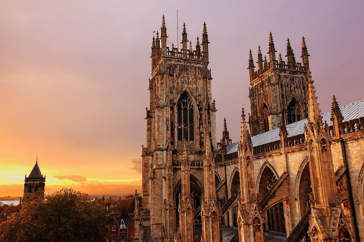 Sunset from York Minster