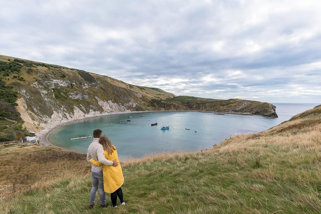 lulworth cove to durdle door