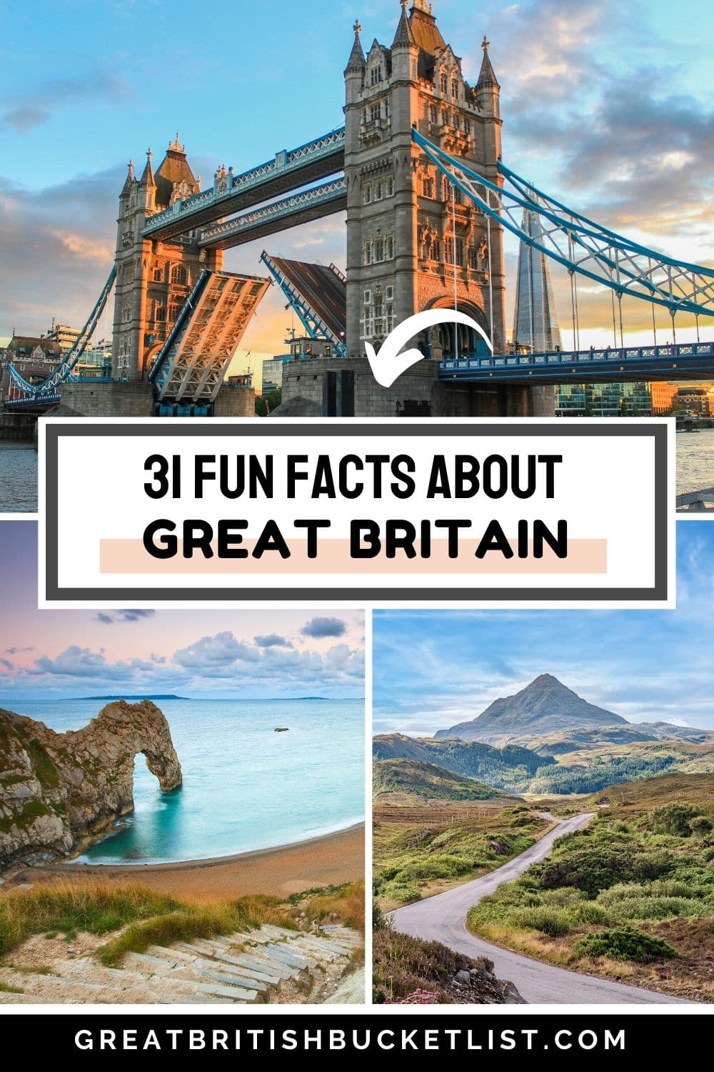 31 fun facts about Great Britain