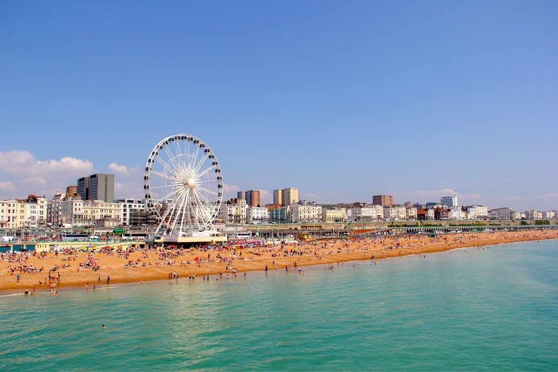 Brighton - one of the best seaside day trips from London