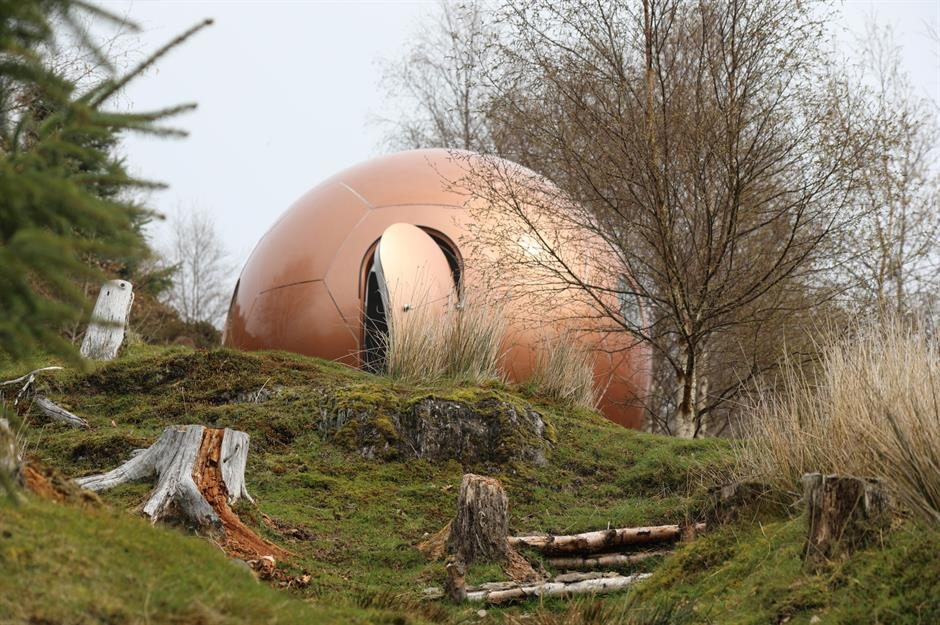 There are plenty of unusual places to stay in Wales