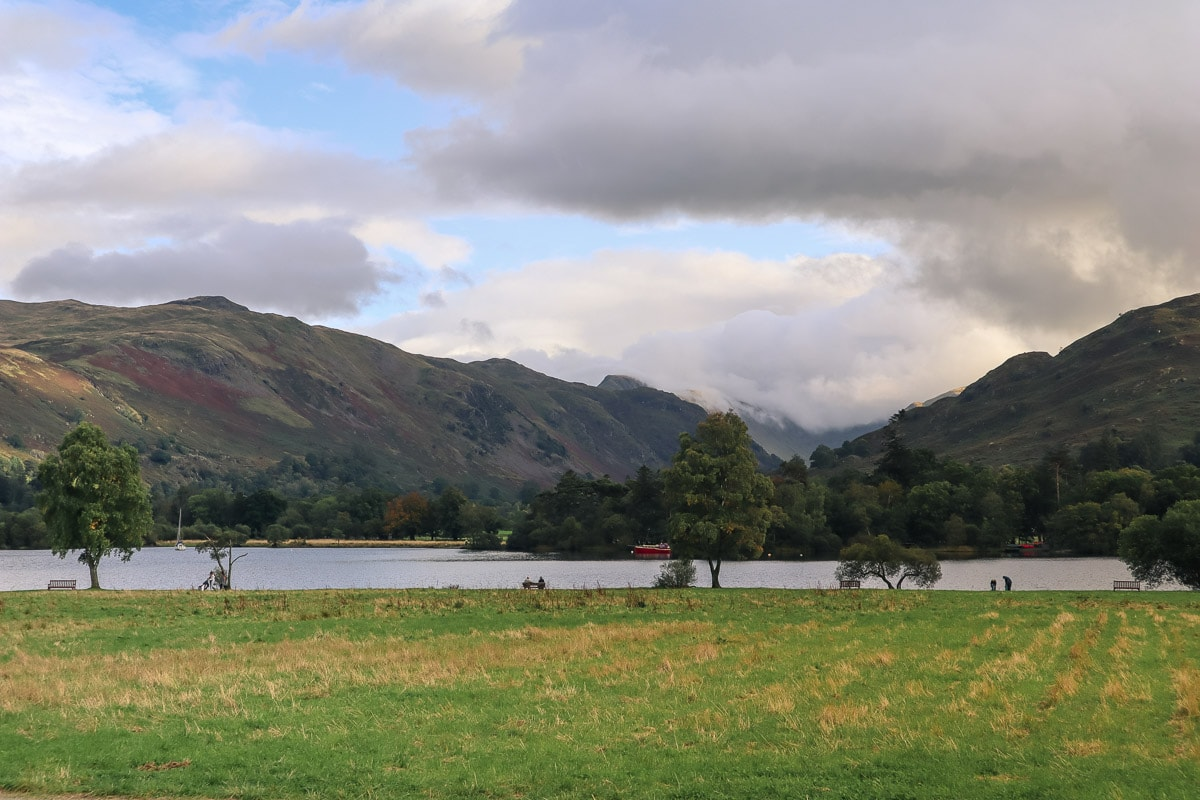Beautiful views across Ullswater