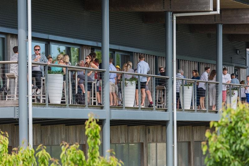 Terrace at Rathfinny Wine Estate