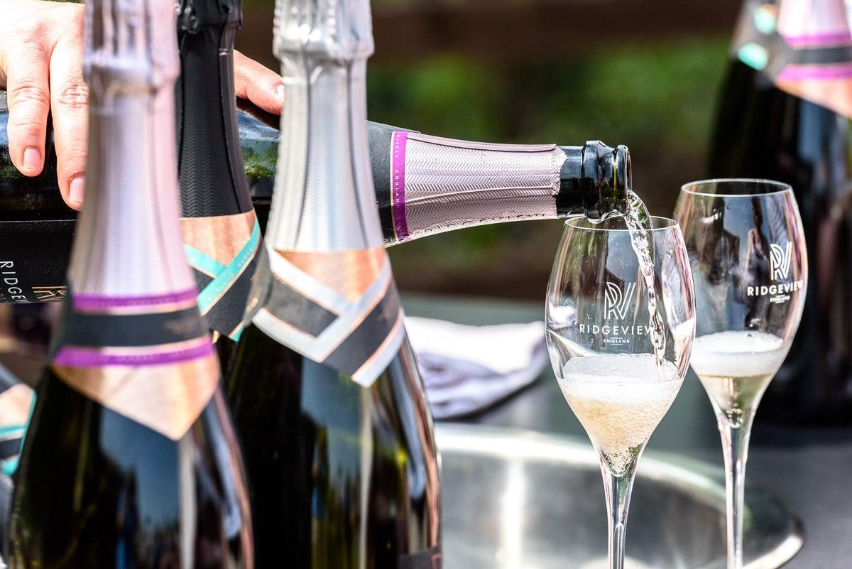 Ridgeview sparkling wine (Photo © Julia Claxton)