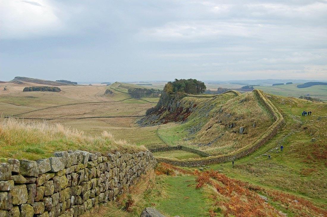 hadrians wall scotland
