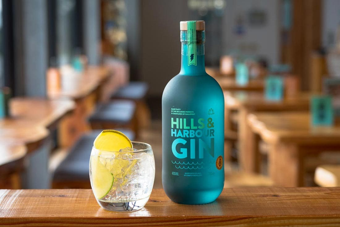 hills and harbour gin crafty distillery