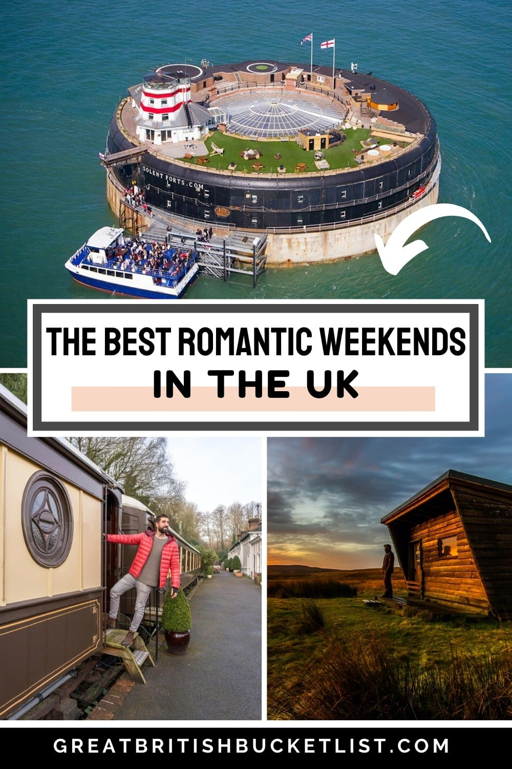 The Most Unusual Romantic Weekend Breaks in the UK