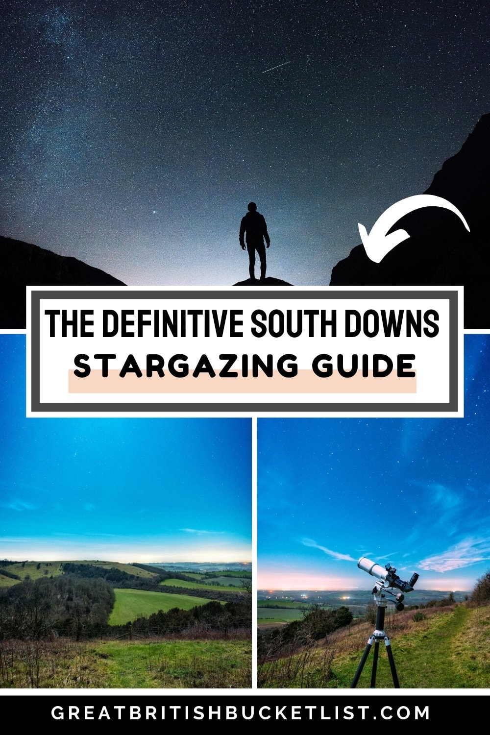 The Ultimate Guide to Stargazing in the South Downs, England