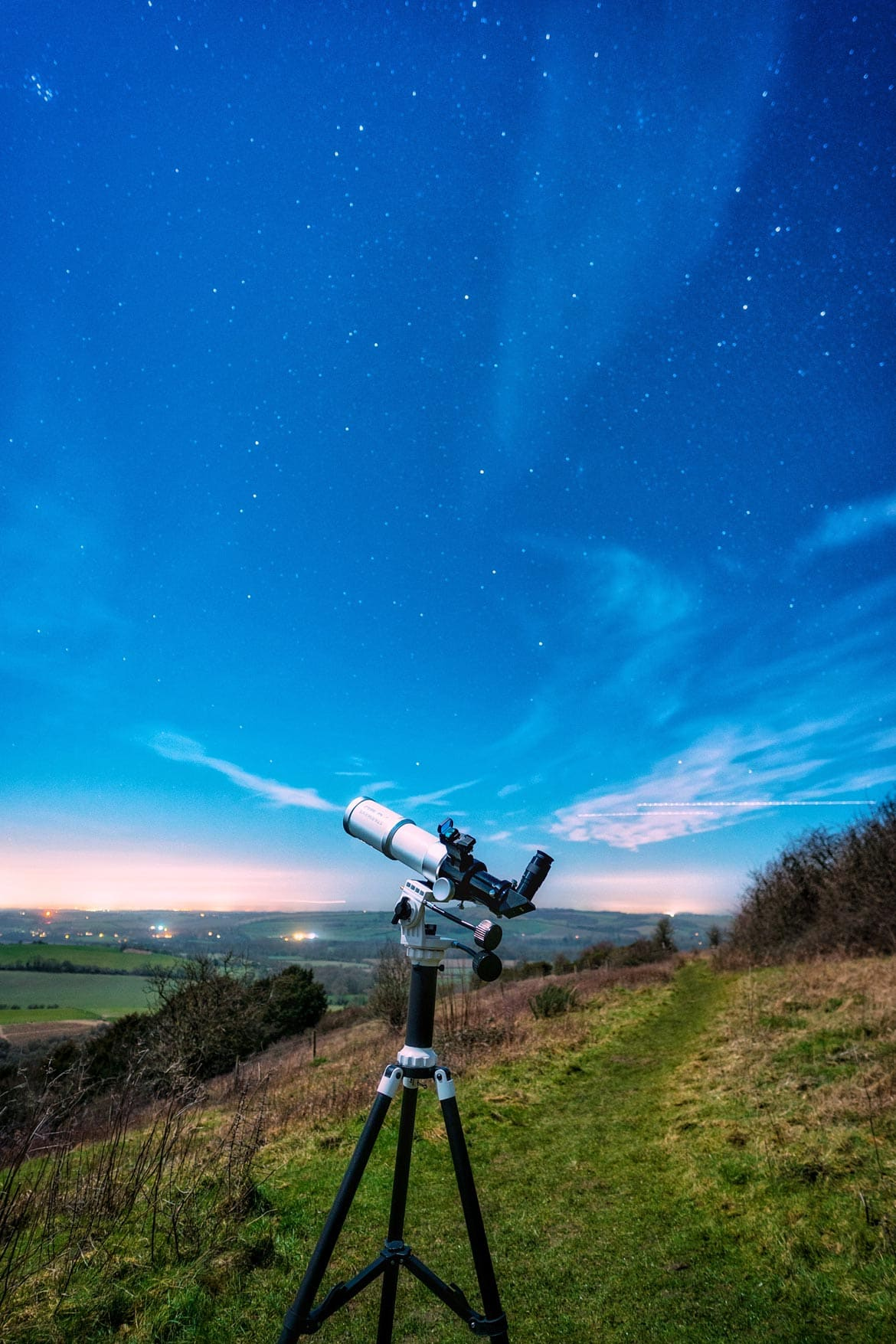 stargazing in the south downs