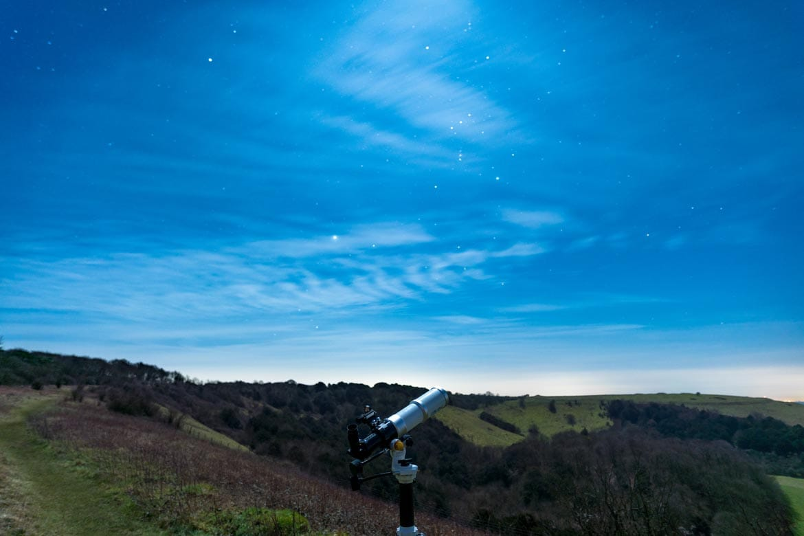 stargazing south downs