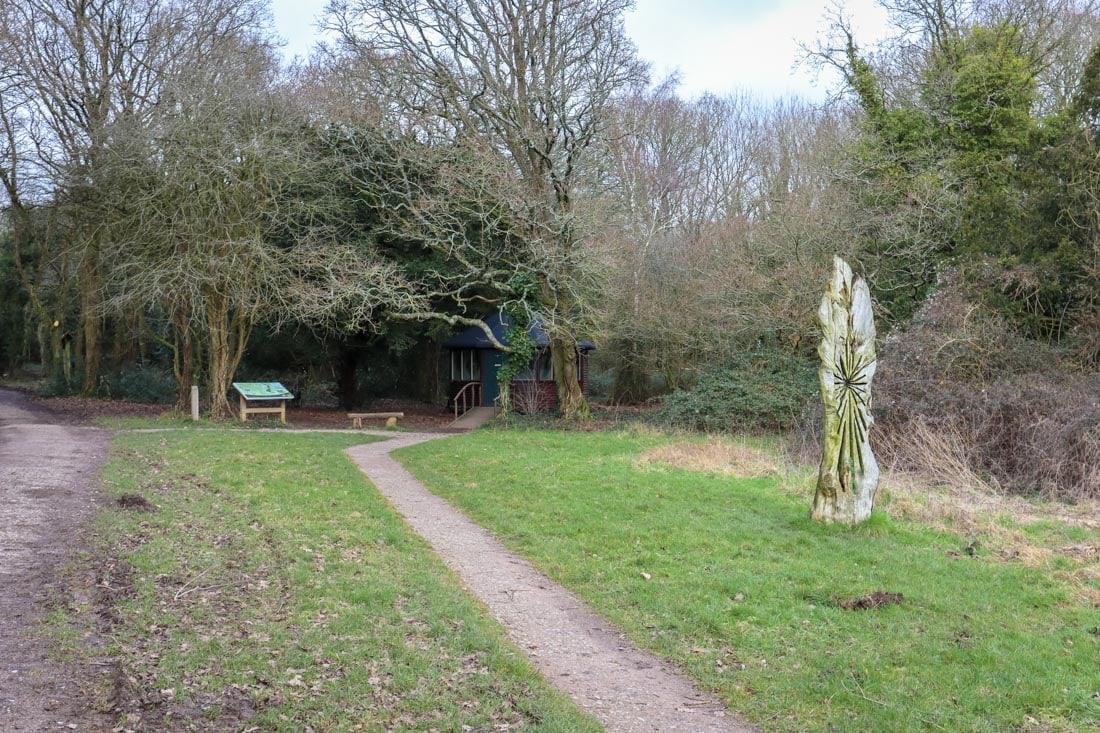 walking at kingley vale