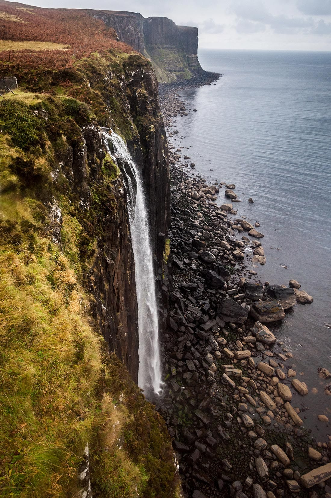 waterfall isle of skye