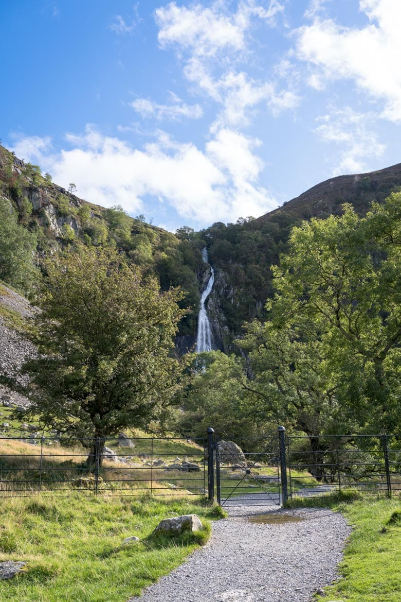 waterfalls in wales