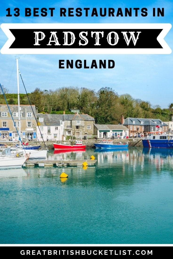 Best restaurants in Padstow Cornwall