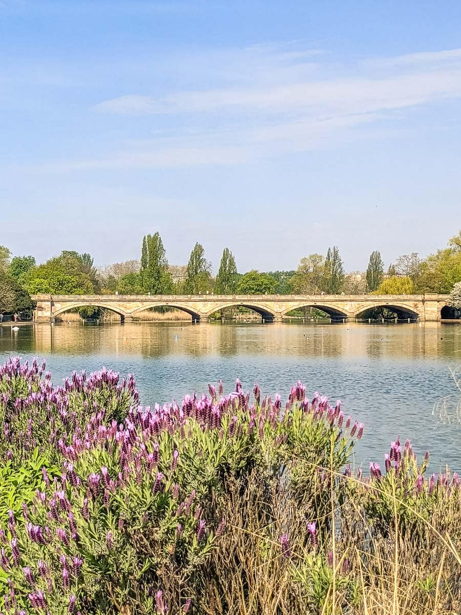 Bridge over The Serpentine, Hyde Park, London