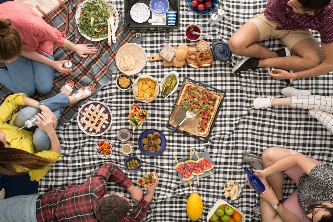 Hyde Park picnic spots