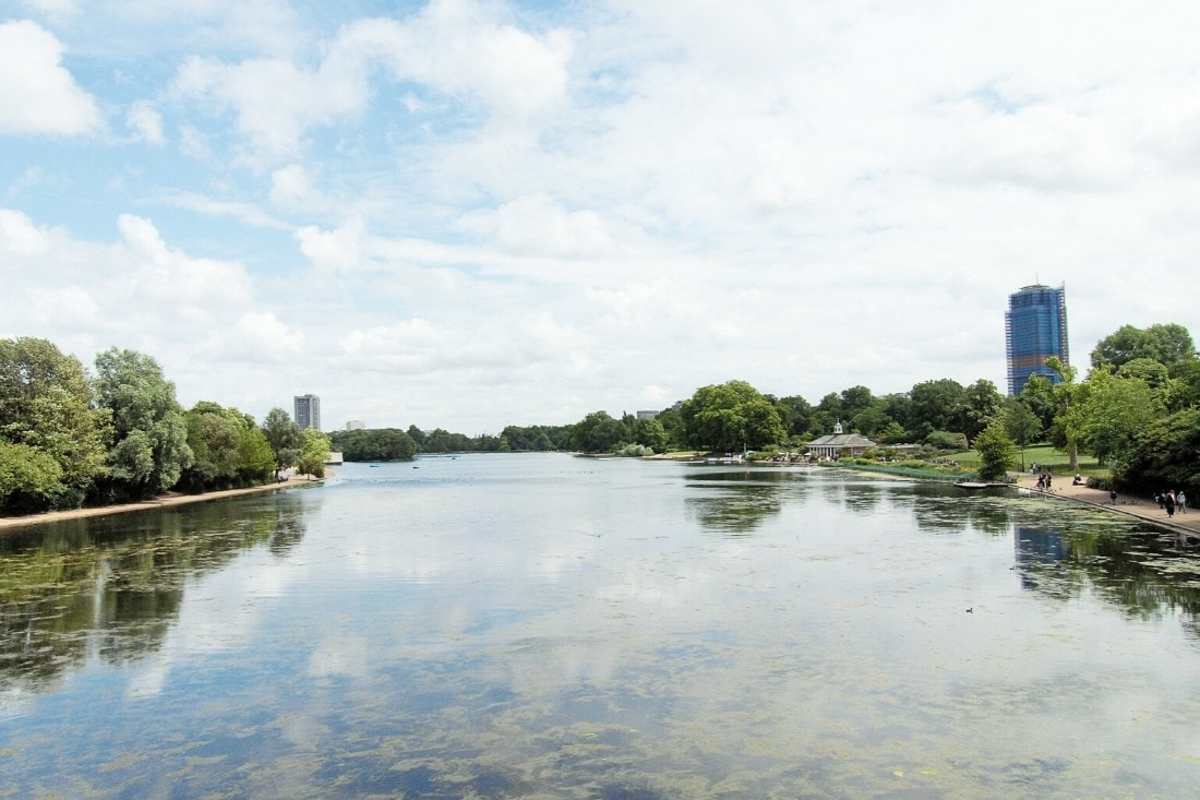 The Serpentine, Hyde Park, London