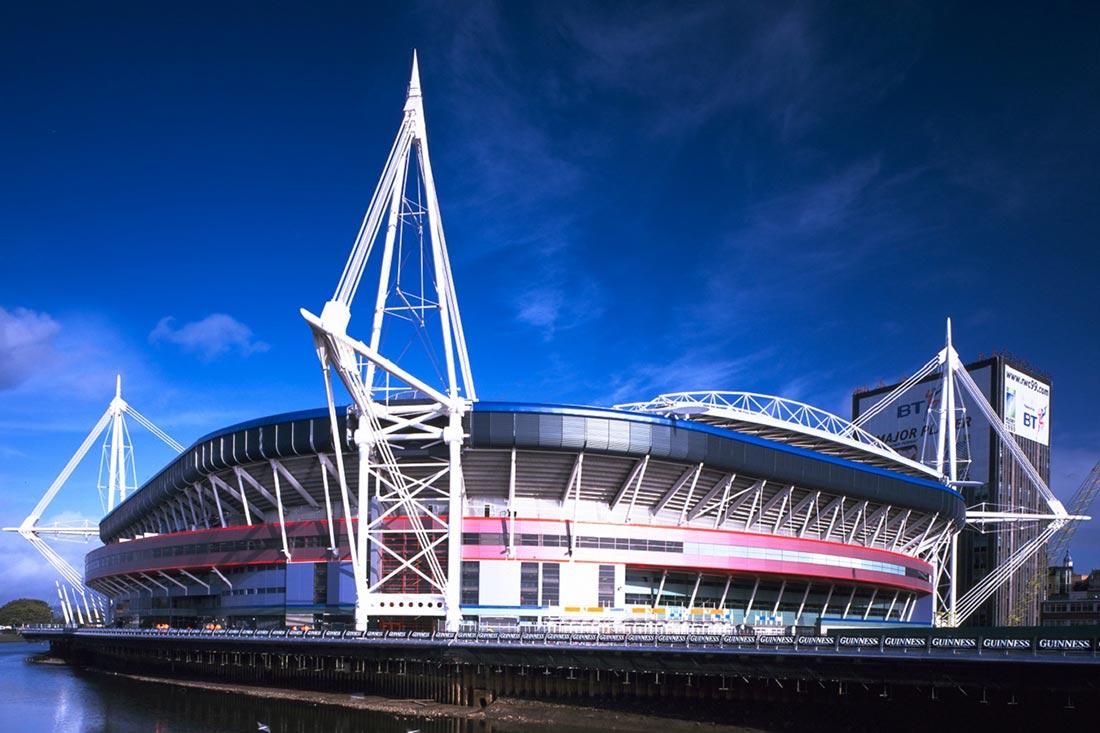 Principality Stadium in Cardiff