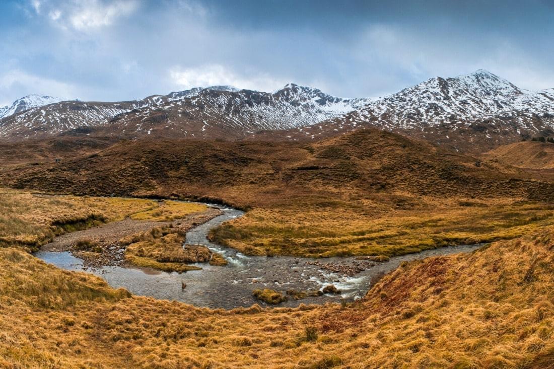 best of britain views over Scottish Highlands