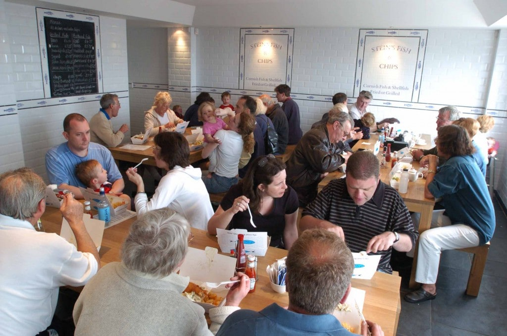 Stein's Fish and Chips, Padstow