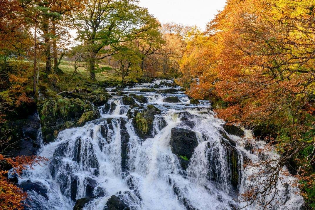 Swallow Falls at Betws-y-coed
