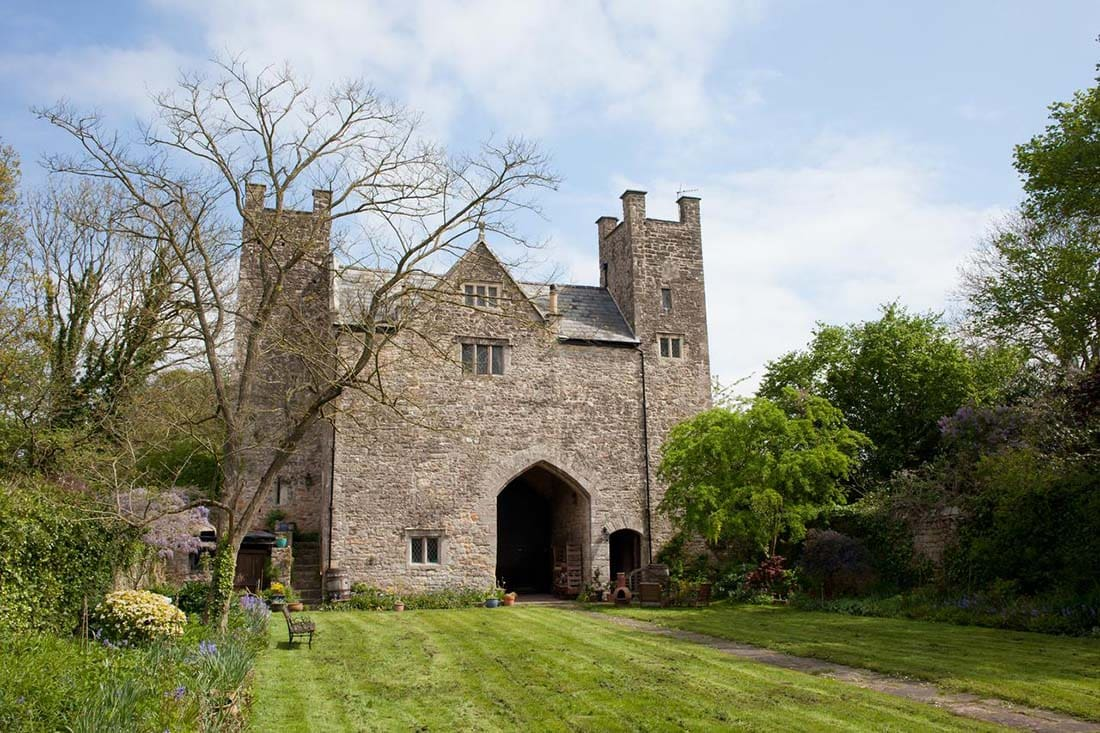 Welsh Gatehouse, Moynes Court Mathern, Mathern