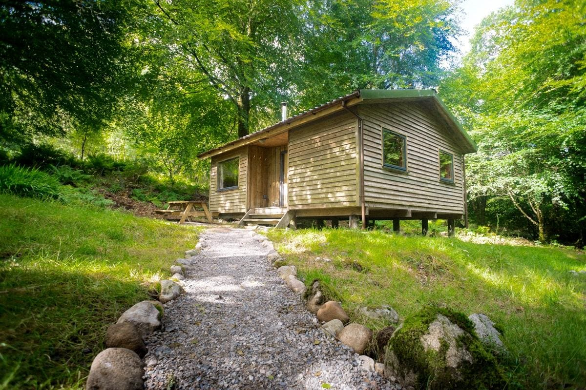 Woodland Cabins, Glencoe