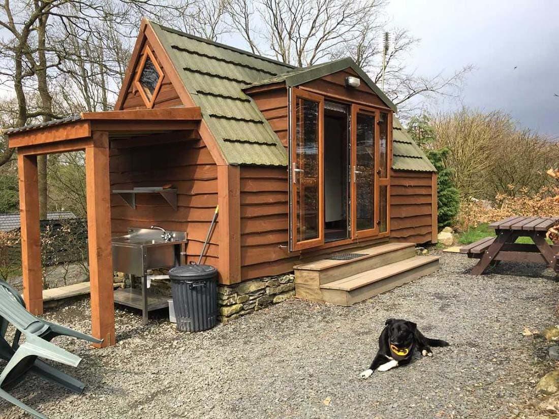 log cabins lake district