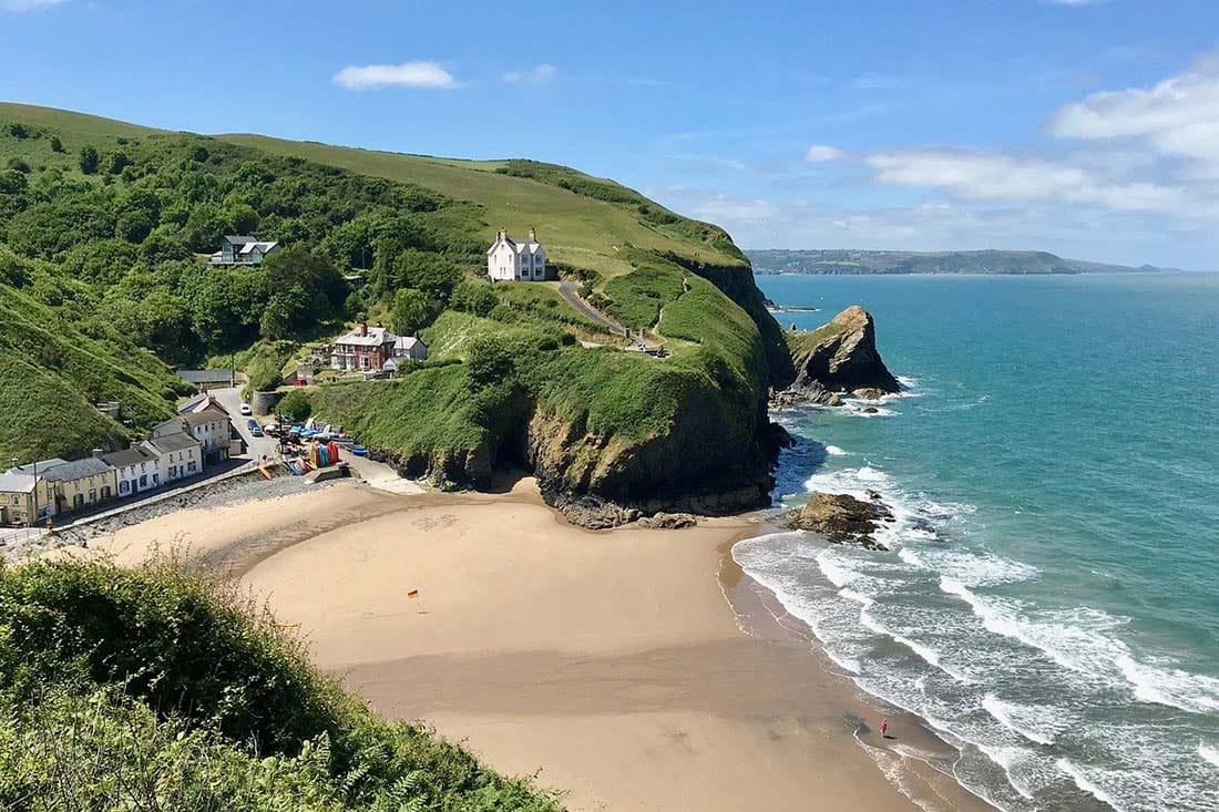 remote cottages in wales
