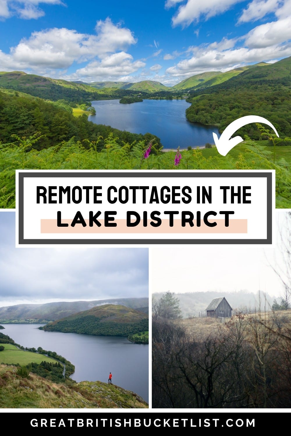 10 Remote Cottages in the Lake District, England