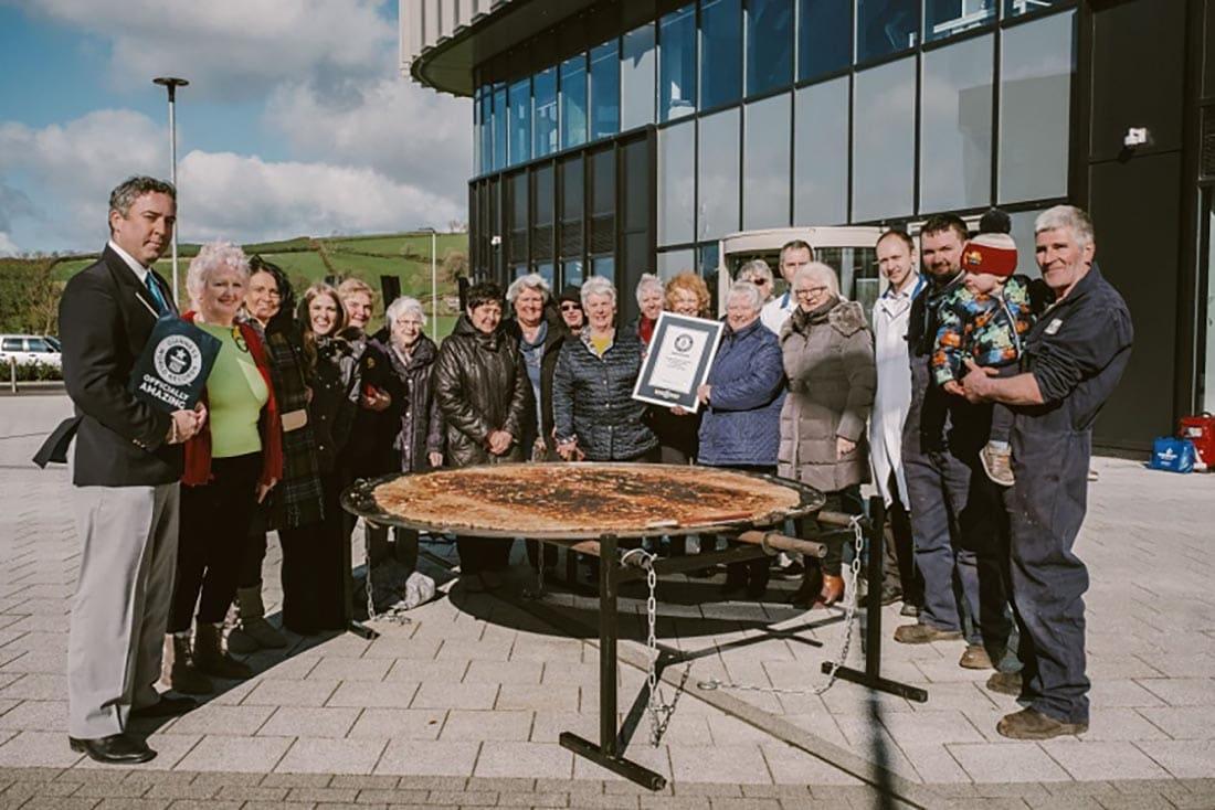 worlds largest welsh cake