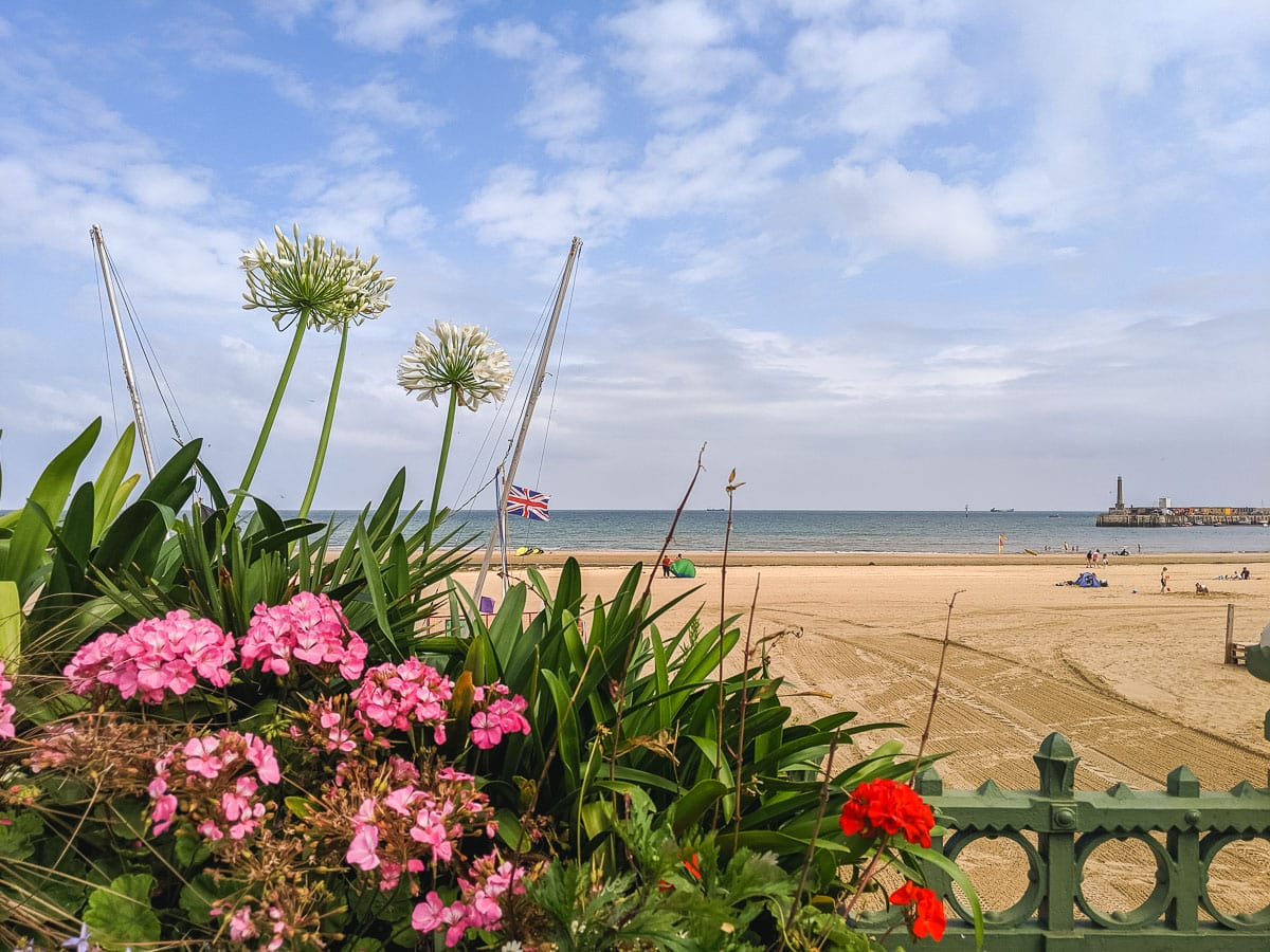 Margate Beach - one of our favourite seaside day trips from London