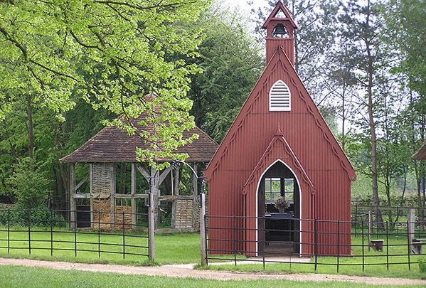 Henton Tin Chapel, Chiltern Open Air Museum