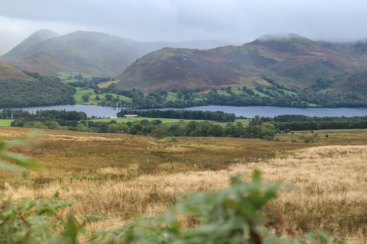 Beautiful scenery in the Lake District National Park