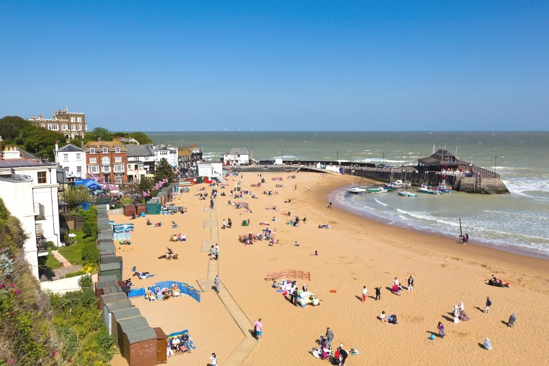 Broadstairs, Kent - one of the best seaside day trips from London
