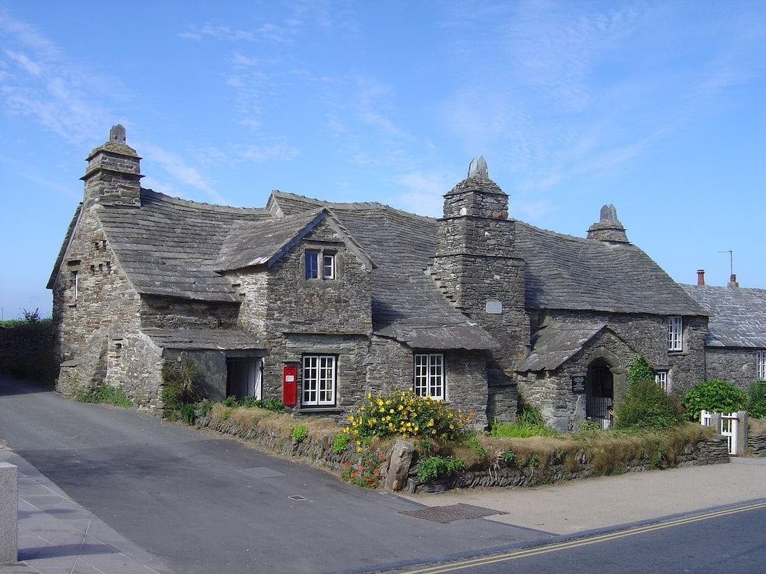 Tintagel Old Post Office, Cornwall