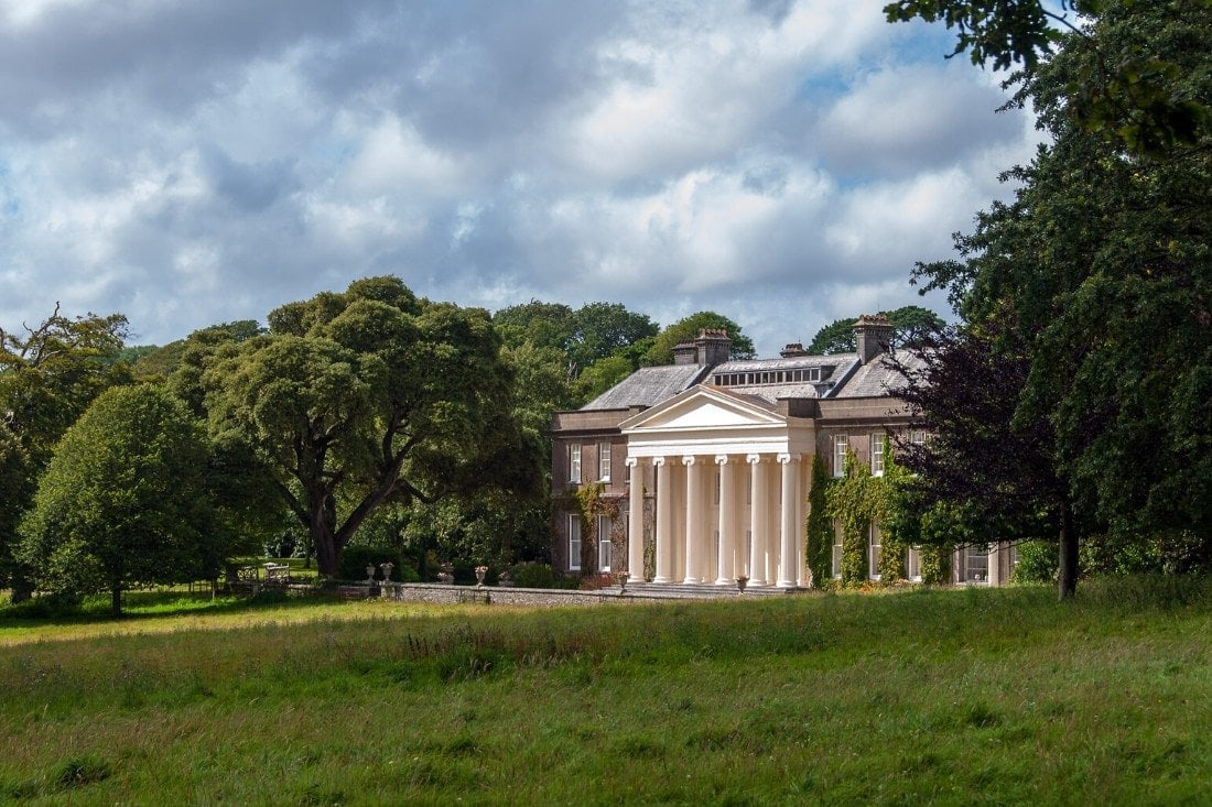 National Trust houses in Cornwall - Trelissick House And Garden, Cornwall