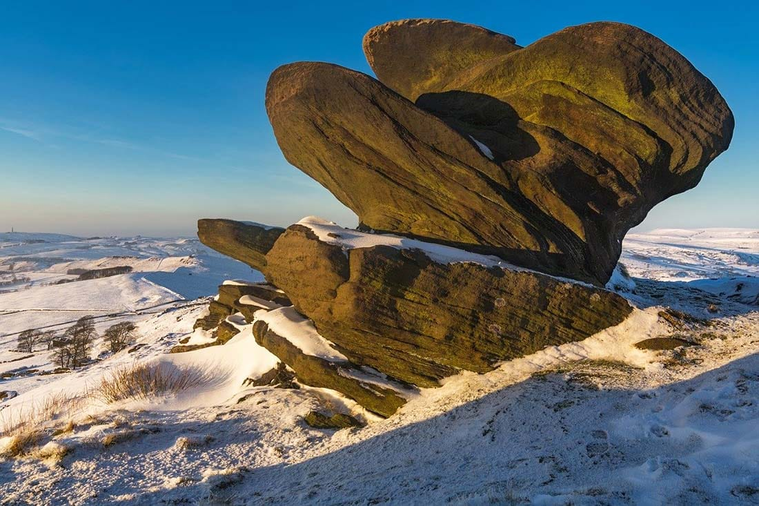 bridestones moor, peak district