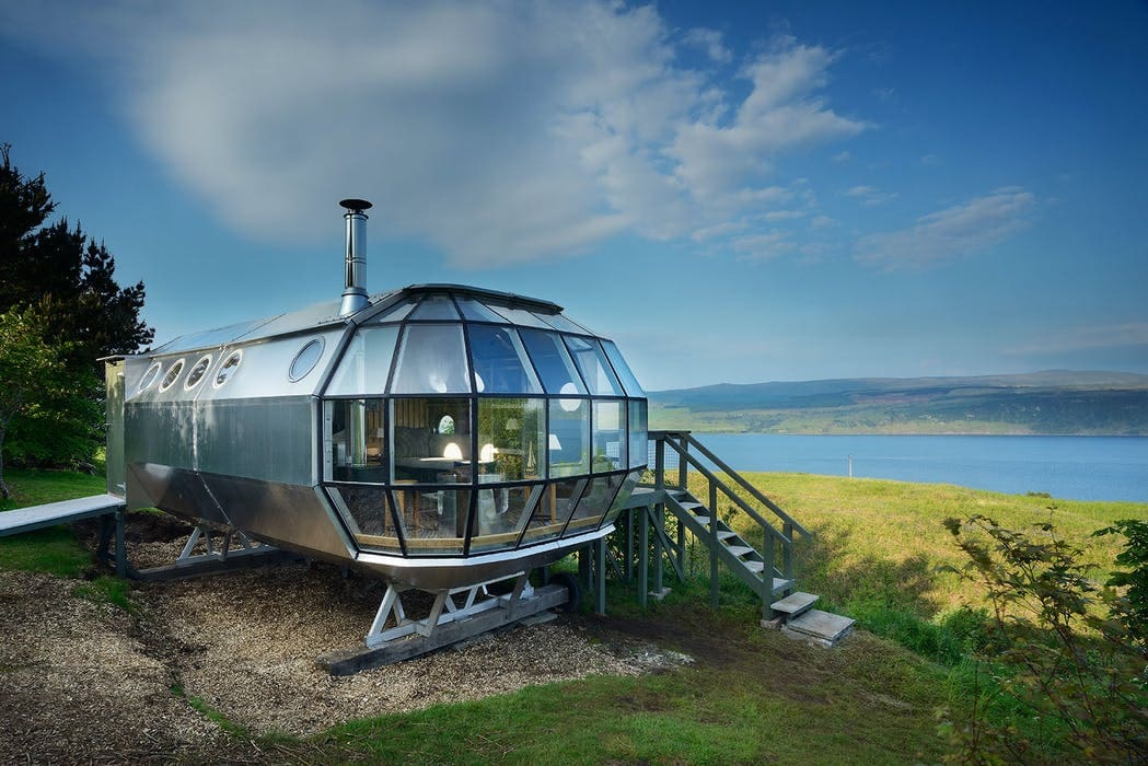 unusual places to stay in scotland